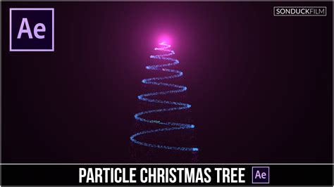 tutorial after effect particle after effects tutorial particle christmas tree animation