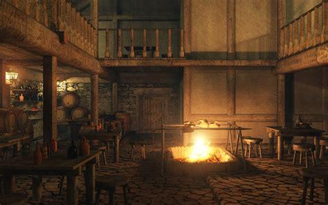 eon vue 3d model tavern interior image01