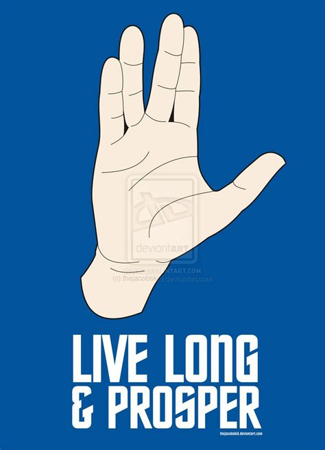 live long and prosper by thejacobskid on deviantart