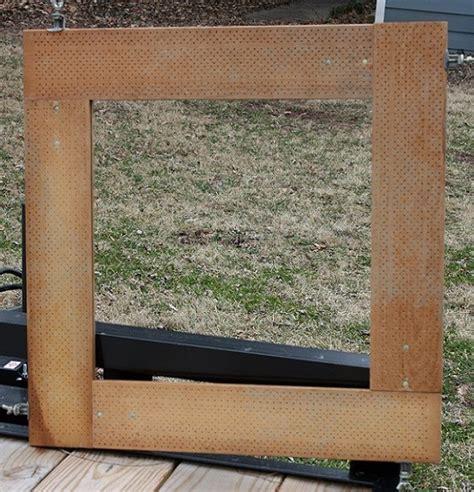 curtain stretchers frame pegboard doily stretcher