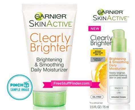 Garnier Active Moisturizer free sle garnier skin active daily moisturizer