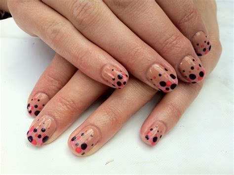 cnd shellac uv l for sale brush up and polish up cnd shellac nail art gradient dots