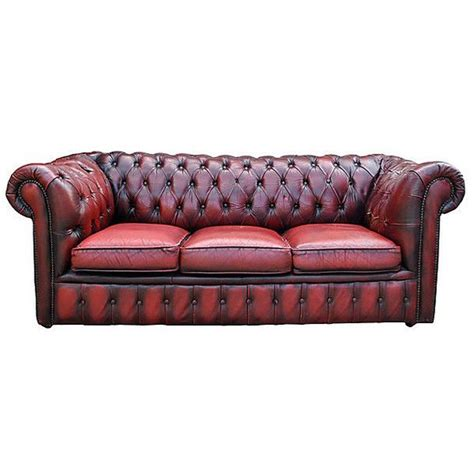 pre owned chesterfield sofa best 25 red leather sofas ideas on pinterest