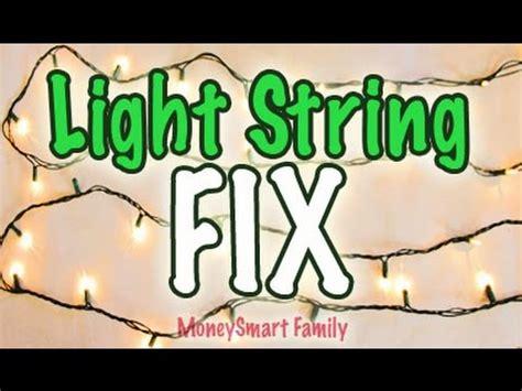 light string hack fix or repair light strings