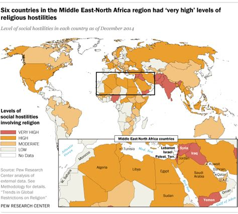 middle east map facts 6 facts about religious hostilities in the middle east and