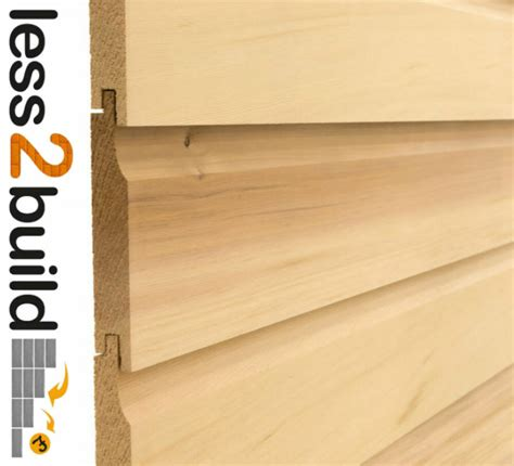 Shiplap Wood Cladding by Premium Grade Shiplap Timber Cladding 16x125 3 0m Lengths
