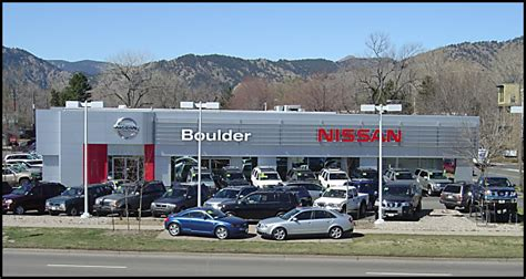nissan dealerships colorado boulder nissan hours and map address directions to our