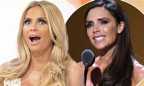 katie price slammed by stunned price slams beckham s appearance on