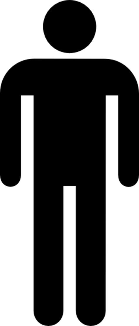 male bathroom symbol male bathroom symbol black clip art at clker com vector