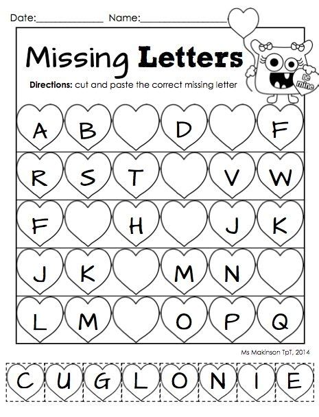 free printable preschool valentine worksheets february printable packet kindergarten literacy and math