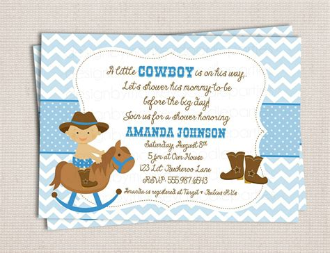 Western Baby Shower by Buckaroo Cowboy Baby Shower Custom By Monkeydoodleparties