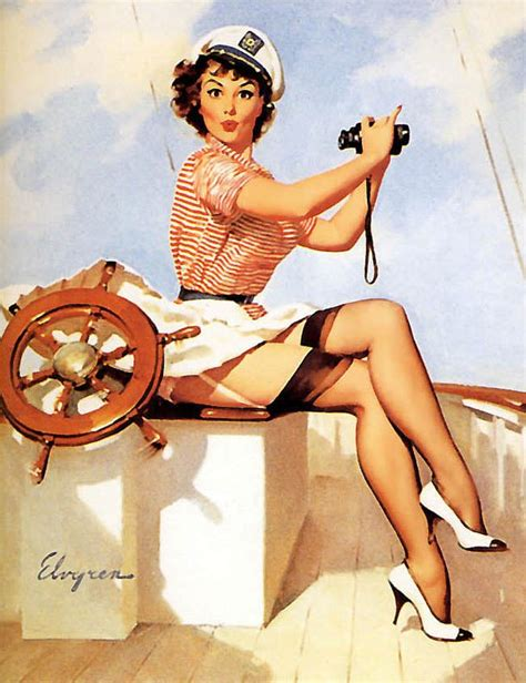 imagenes pin up marineras gil elvgren pin up illustrator trendland