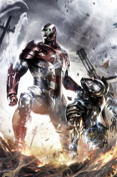 Iron War Machine Comic iron patriot vs war machine iron 3 fan comic