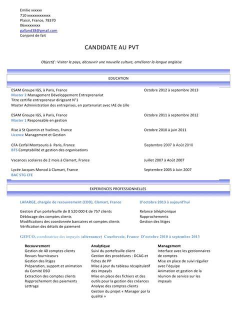 Cv E 172416977 Cv E Exemple Pvt 2 Pdf Par U377729 Fichier Pdf