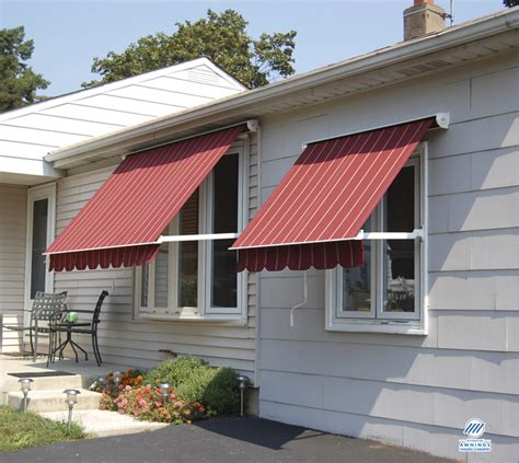 glass awnings for home fabric window door awnings the window people