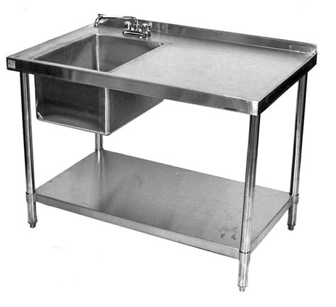 Stainless Steel Table With Sink And Faucet by Best 25 Outdoor Kitchen Sink Ideas On