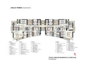 residential building plans ahuja towers openbuildings