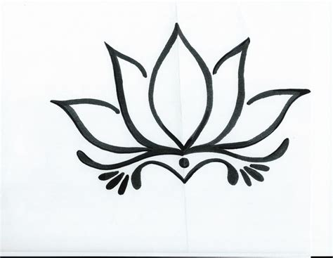 simple lotus flower tattoo 17 best ideas about lotus flower drawings on
