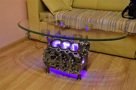 Top Gear Coffee Table Insanely Cool Things Made Out Of Used Car Parts Quikr