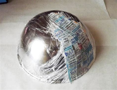 How To Make Paper Mache Stronger - how to make paper mache bowl diy projects craft ideas