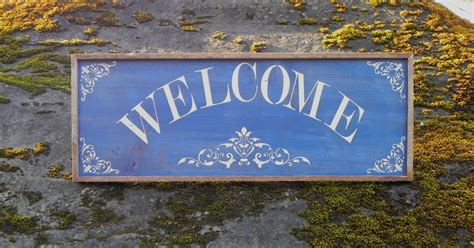 country signs welcome sign home accents outdoor sign country home decor