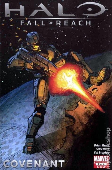 Halo Tp Blood Line Marvel Comics halo fall of reach covenant 2011 marvel comic books
