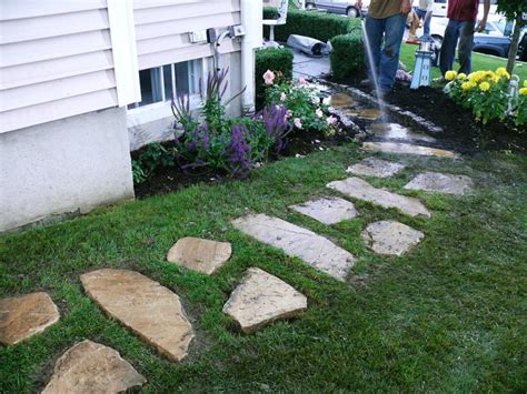 stone for backyard building a stone walkway how tos diy