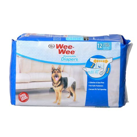 wee puppy paws four paws four paws wee wee disposable diapers diapers garments
