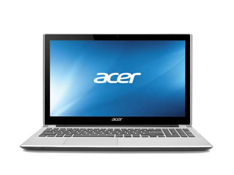 Laptop Acer I3 Touchscreen acer aspire v series 15 6 quot touchscreen laptop silver