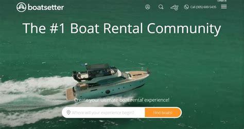 boatsetter ads boat rental communities boatsetter