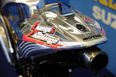 desain gerobak tarik motor fans suzuki motogp masuk galeri gsv r special livery yang