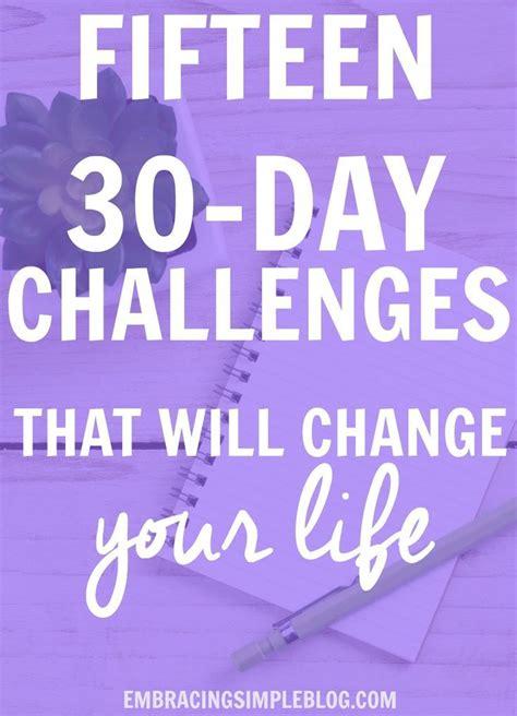 challenge ideas 17 best ideas about 30 day challenge on