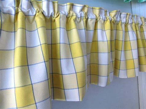 Green And Yellow Curtains Decorating Plaid Kitchen Curtains Teawing Co