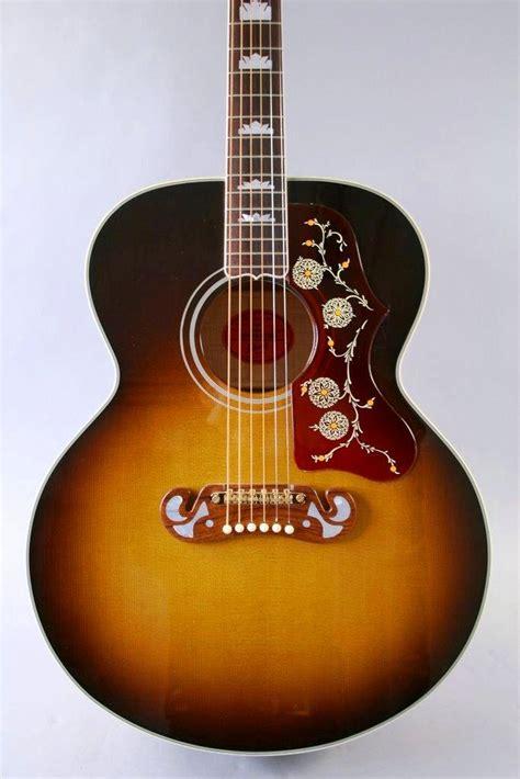 imagenes guitarras vintage foto gibson j 200 1960 s vintage sunburst guitarra