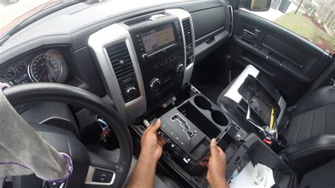1998 Dodge Avenger Console Removal And Installation