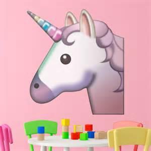 Unicorn Wall Stickers vinilo decorativo cara de unicornio