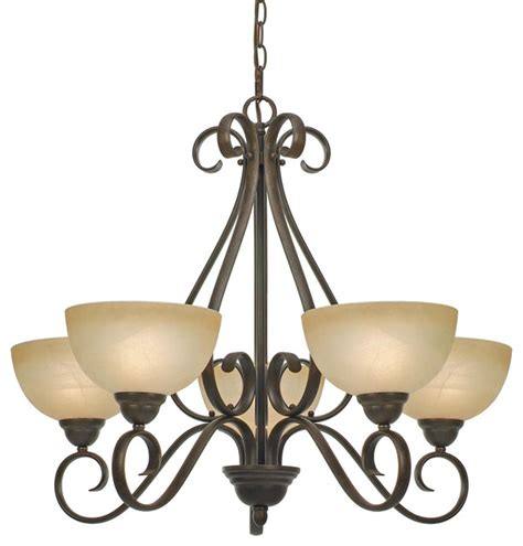 Lighting Chandeliers Traditional Riverton Pc 5 Light Chandelier Traditional Chandeliers By Carolina Rustica