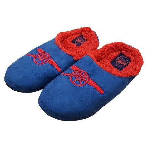 arsenal slippers arsenal mules slippers size 9 10 arsenal slippers