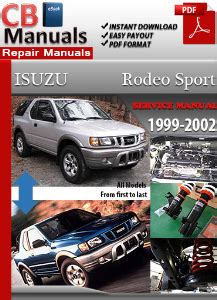 manual repair free 2002 isuzu rodeo on board diagnostic system isuzu rodeo sport 1999 2002 service repair manual ebooks automotive