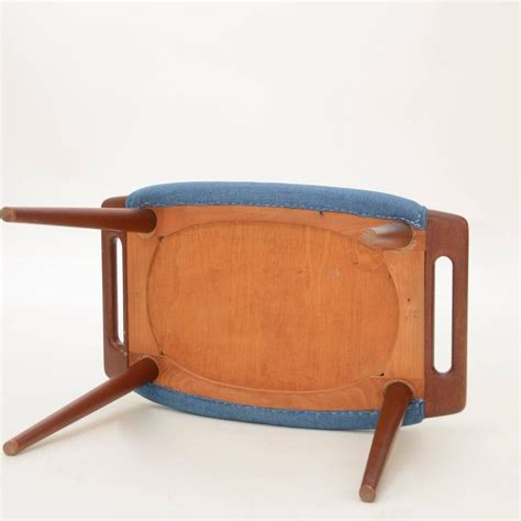 bear ottoman footstool hans wegner papa bear ottoman or footstool for sale at 1stdibs