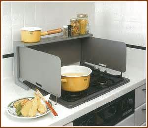 stove splash guard cooking clocca rakuten global market oil for kitchen