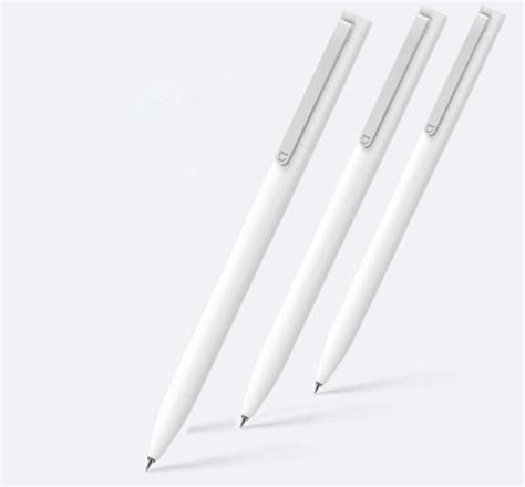 Xiaomi Mijia Pen Refill 3pcs Original new original xiaomi mijia sign pen 9 5mm signing pen