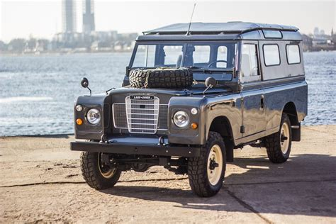 spotted fully restored 1984 land rover series iii 109