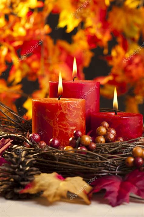 dwell beautiful shows you how to reuse candle jars and wax autumn candles stock photo 169 a41cats 25656903