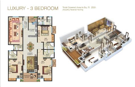Floor Plan Apartment by The Galleria Luxury Apartments Amp Shops In Bahria Enclave
