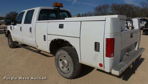 ford f350 truck bed for sale 2008 ford f350 super duty xl crew cab utility bed pickup