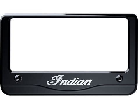 gestell mit teller indian 174 script license plate frame indian motorcycle