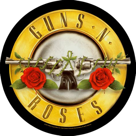 guns n roses logo 2 guns n roses backpatch bullet logo