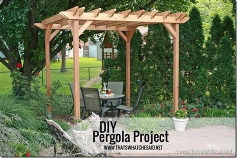 build your own pergola kit weekend diy pergola project pergola plans home and the