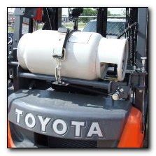 just how do you lift a tank? toyota lift equipment